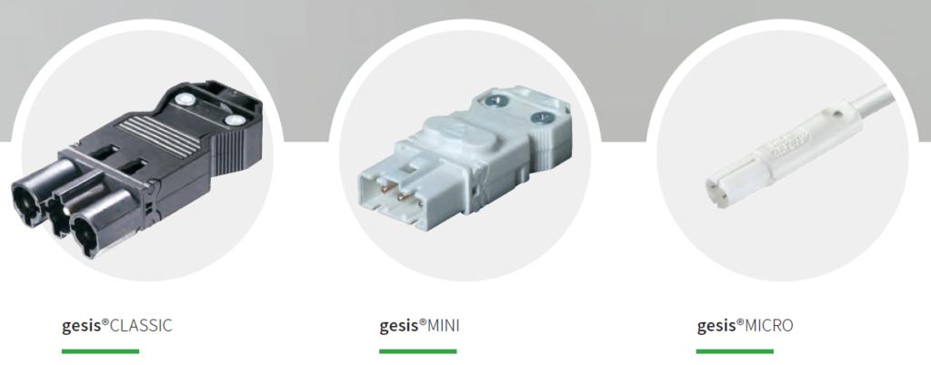 Системи електричних з'єднань: gesis CLASSIC, gesis MINI, gesis MICRO.  СВ Альтера Львів