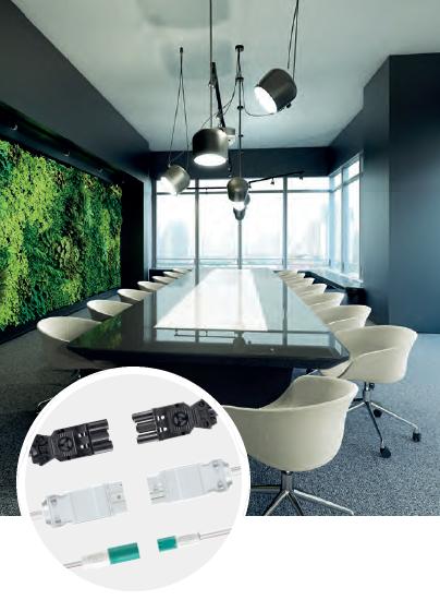 Роз'єми та конектори для підвісних світильників, світлодіодних стрічок та систем ланцюгового освітлення.  СВ Альтера Львів.