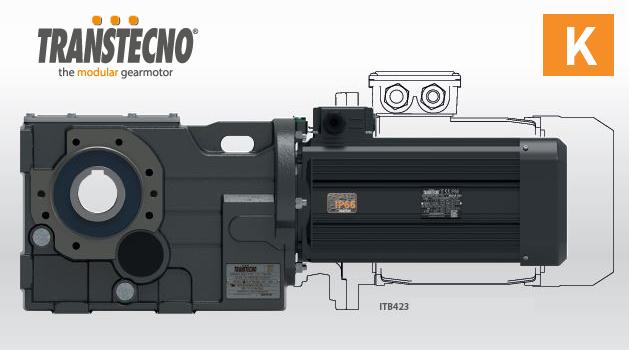Лінійка компактних мотор-редукторів Transtecno