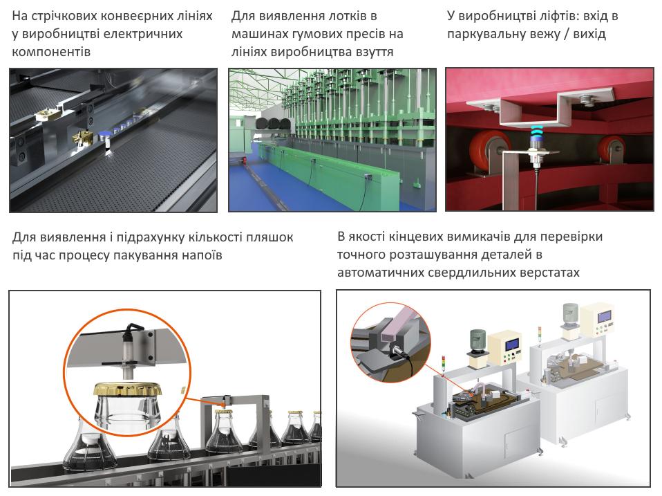 Застосування індуктивних датчиків наближення Autonics PRD