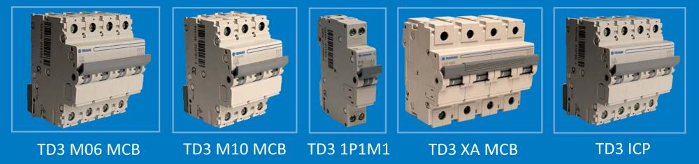 Мініатюрні автоматичні вимикачі Terasaki MCB
