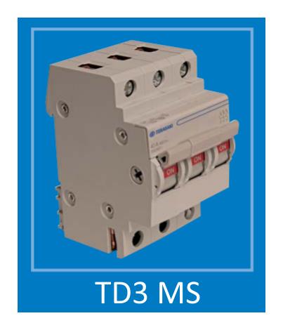 Модульний перемикач Terasaki TD3 MS