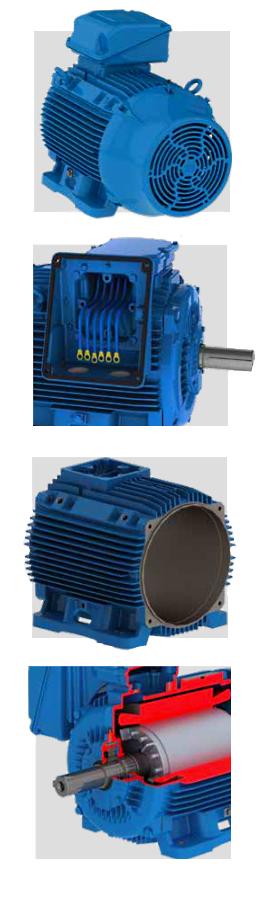 Технічні особливості WEG W22