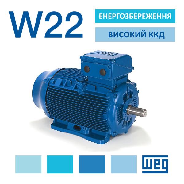 Електродвигуни WEG W22 СВ Альтера Львів