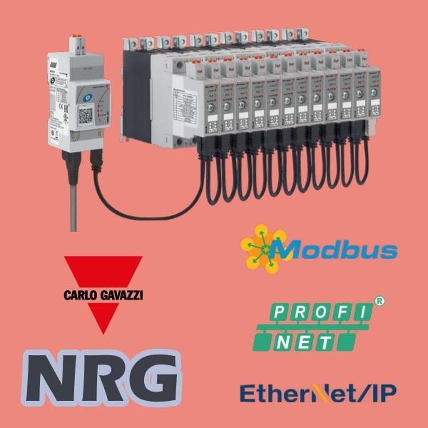 Нові цифрові твердотільні реле NRG з інтерфейсом зв'язку EtherNet / IP