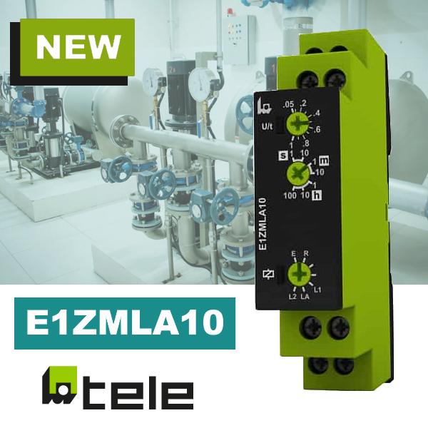 Компактне реле часу E1ZMLA10 від TELE з унікальною комбінацією функцій