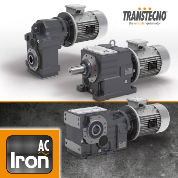 Міцні та надійні мотор-редуктори Transtecno серії IRON