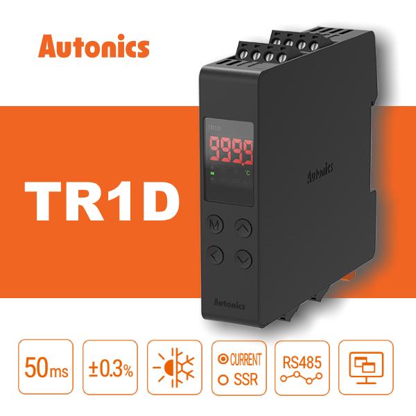 Новий компактний температурний контролер з ПІД-регулятором Autonics серії TR1D