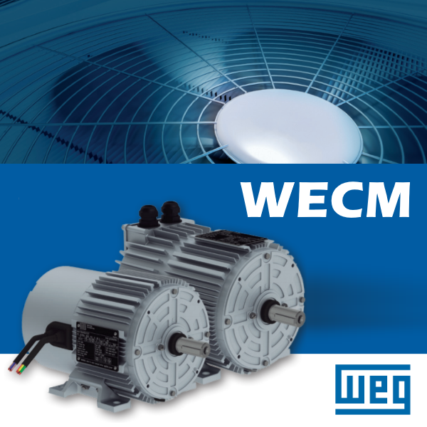 Електронно-комутований електродвигун WECM для систем вентиляції та кондиціонування