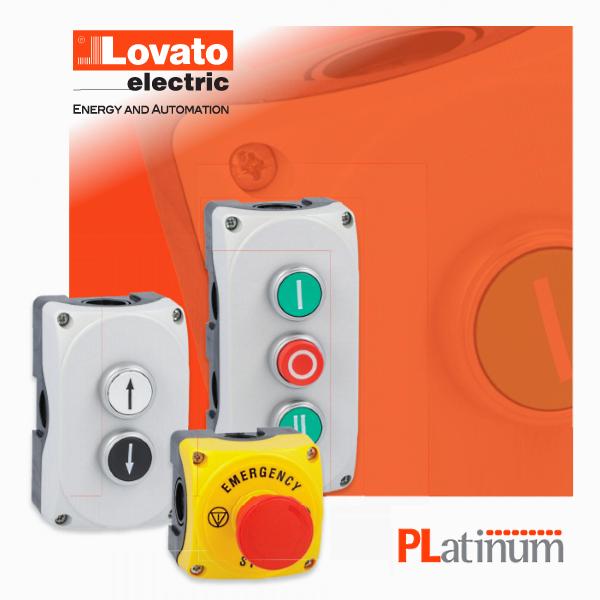 Комплекти корпусів з кнопками серії Platinum