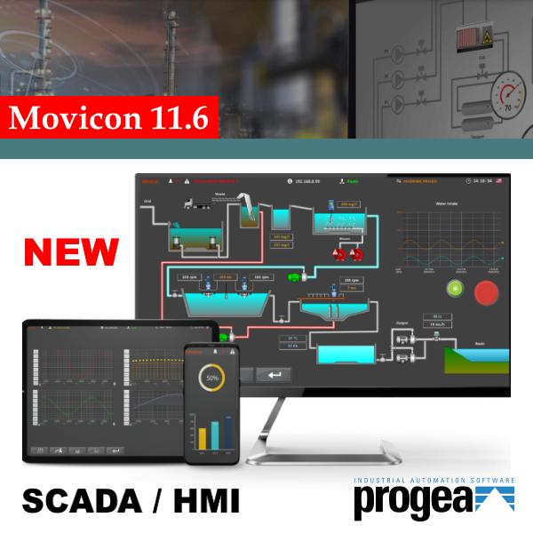 Програмна платформа Movicon: нова версія 11.6