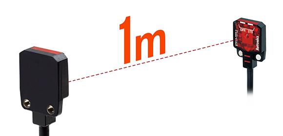 Максимальна дистанція виявлення до 1 м