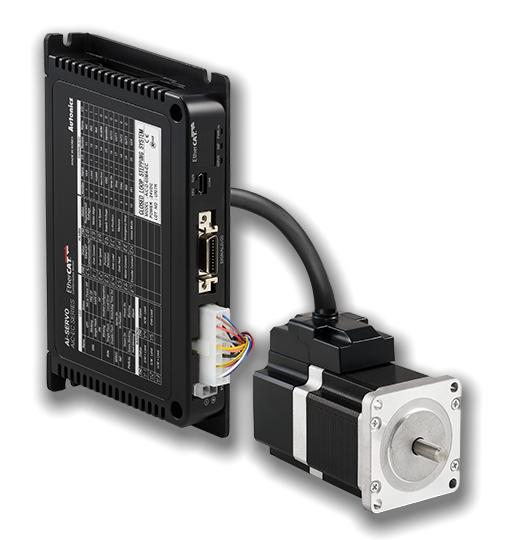 Система двофазного крокового двигуна замкнутого контуру серії AiC-EC