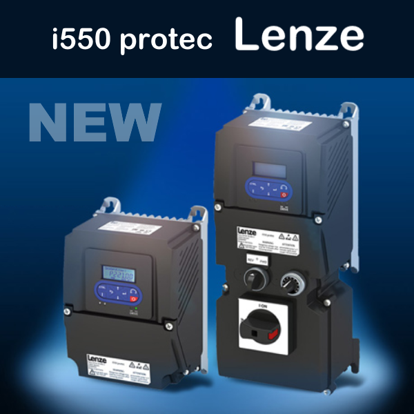 Компактні та масштабовані перетворювачі частоти I550 Protec Lenze