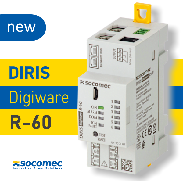 Модуль контролю струму витоку DIRIS Digiware R-60