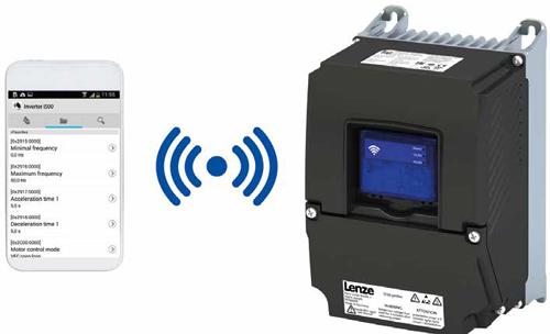 Конфігурація перетворювача частоти i550 protec Lenze