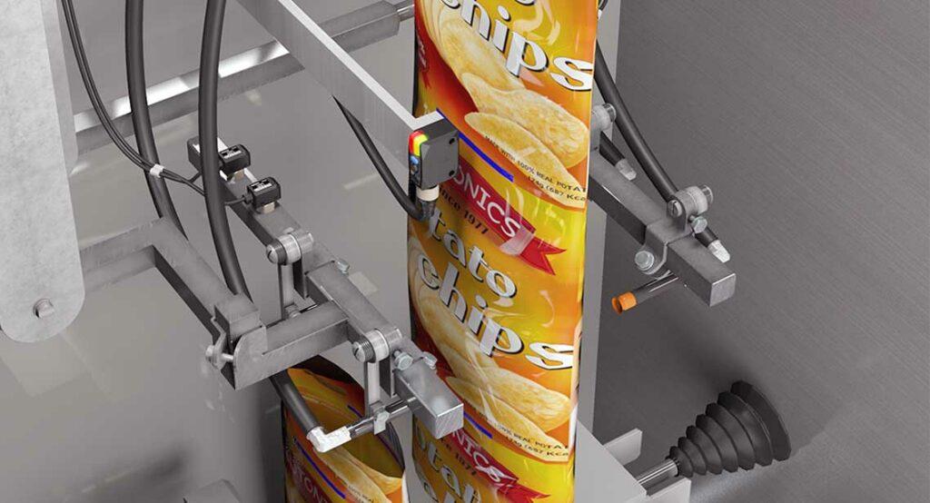 Датчики кольорових міток використовуються для виявлення ріжучих міток на папері з струменевих маркерів.