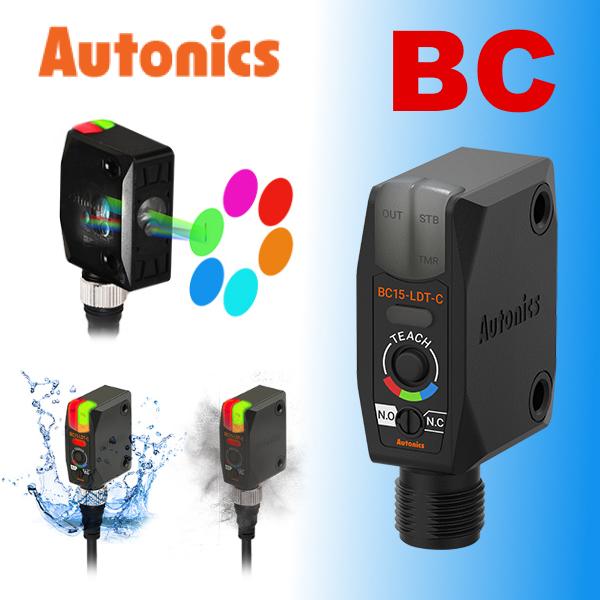 Надійні та точні датчики кольорових міток Autonics серії BC