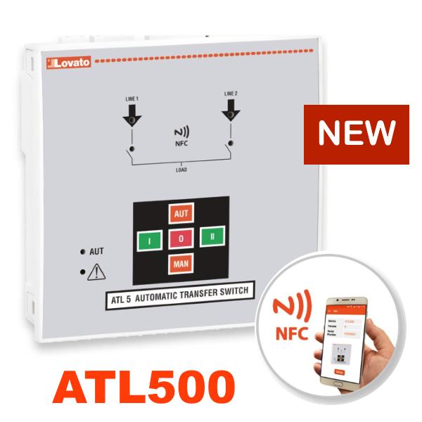 Новинка від Lovato Electric - контролер АВР ATL500 з функцією NFC